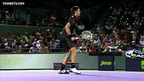 Novakas Džokovičius apie Majamio turnyrą