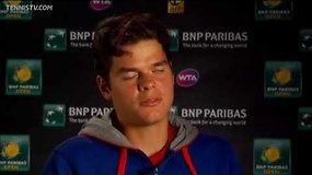 Rogerio Federerio interviu prieš mačą su Milošu Raoničiumi