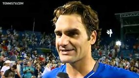 Rogeris Federeris nugalėjo Juaną Martiną del Potro