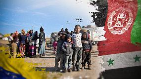 Pasaulinė pabėgėlių diena:  krizė dar neišsikvėpė – iš kur jų sulaukiame daugiausia ir nuo ko jie bėga?