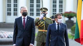 E.Macronas ir G.Nausėda atvyksta į Ruklą – pasitikimo ceremonija