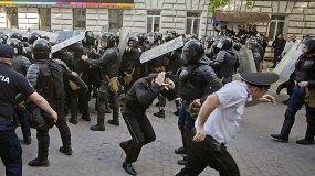 Moldovos sostinėje Kišiniove – riaušės
