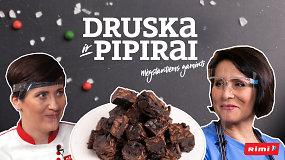 """""""Druska ir pipirai"""": išradingasis tinginys be kondensuoto pieno sužavėjo scenos divą I.Starošaitę"""