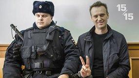 15/15: Navalnas už grotų, kas toliau?