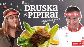 """""""Druska ir pipirai"""": kaip plėšomą kumpį gardžiai paruošti namų virtuvėje?"""