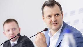 Socialdemokratų pirmininkas G.Paluckas: laimėjome mes, o ne konservatoriai