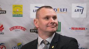 M.Špokas: alternatyvų FIBAI šiai dienai nėra jokių