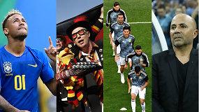 """""""Vieni vartai"""": Neymaro ašaros, maištas Argentinos rinktinėje  ir paskutinis šansas vokiečiams"""
