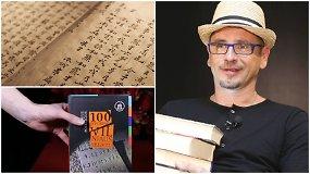 15min laida apie knygas: geriausi mėnesio kūriniai, Azijos literatūra Lietuvoje, pokalbis su M.Mikutavičium