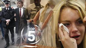 Skandalinga garsenybių gėda: daugiausiai kartų sulaikytų užsienio žvaigždžių TOP 5