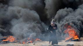 JAV ambasados perkėlimo į Jeruzalę kaina –  58 palestiniečių gyvybės