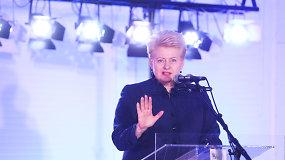 D.Grybauskaitė: PVM mažinimas tik padidins prekybos centrų ir gamintojų pelnus