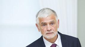 Kandidatas į žemės ūkio ministrus Bronius Markauskas susitiko su prezidente Dalia Grybauskaite