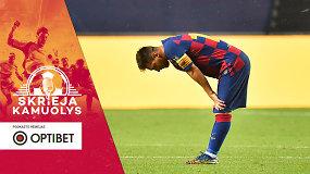 """""""Skrieja kamuolys"""": Lietuva Europoje, kur žais Lionelis Messi, kam jo reikia """"Manchester City"""" ir žaidėjų perėjimai"""