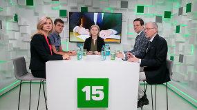 Diskusija apie naują koaliciją su partijų atstovais: kas toliau?