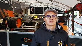 Pasaulio ralio kroso čempionatas Rygoje: Rokas Baciuška treniruotėse buvo antras pagal rato įveikimo laiką