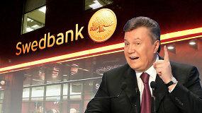 """15min tyrimas: Viktoro Janukovyčiaus auksiniai batonai """"kepė"""" Lietuvos """"Swedbank"""" padalinyje"""