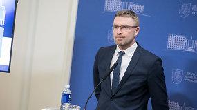 Socialinės apsaugos ir darbo ministro L.Kukuraičio komentarai iš Vyriausybės