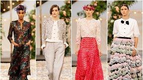 """Didžiuosiuose rūmuose Paryžiuje """"Chanel"""" pristatė 2021 m. pavasario ir vasaros aukštosios mados kolekciją"""