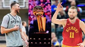 """""""Ginčas"""" ir NBA kulminacija: kokie lietuvių šansai atkrintamosiose?"""