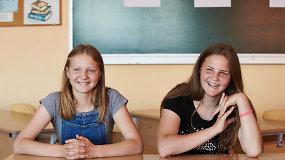 Mokykla dvynėms padėjo atrasti matematikos džiaugsmą