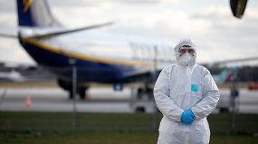 """""""Kylam"""": esant karantinui TKA teikia išimtis aviatoriams dėl būtinų dokumentų tvarkymo"""