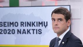 """R.Žemaitaitis apie rinkimų rezultatus: """"Analizuosime skaičius, kur esam stiprūs, o kur silpni ir ruošimės savivaldos rinkimams"""""""