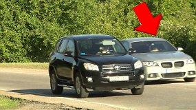 Dauguma vairuotojų iš užmiesčio į Vilnių važiuoja automobilyje vieni