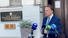 Vidaus reikalų viceministras: savivaldybės neturi galimybių priimti migrantų