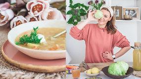 Nepasigailėsite: gardi šviežių kopūstų sriuba