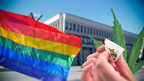 Ar Lietuva pagaliau įteisins gėjų partnerystę? Tikimybė didesnė nei bet kada, bet kliūčių nusimato