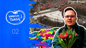 """""""Varom į turgų"""": A.Raulinaičio atradimai Vilniaus gėlių turgavietėse"""