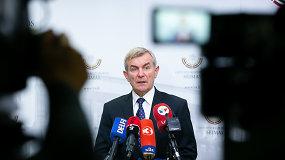 """V.Pranckietis apie bandymą atstatydinti: R.Karbauskis """"laimėjo"""" penktus rinkimus"""