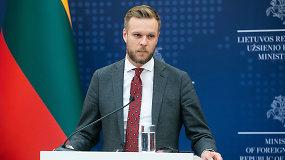 G.Landsbergis dialogą siūlančiam Minskui: turime vieną išankstinę sąlygą
