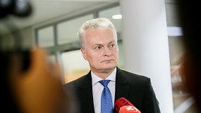 Prezidentas G.Nausėda po S.Skvernelio kandidatūros teikimo: jis – patyręs vadovas