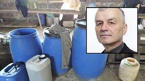 """Su 50 litrų naminukės įkliuvęs """"tvarkietis"""" Šilalės rajono tarybos narys išdavė ir savo tiekėją"""