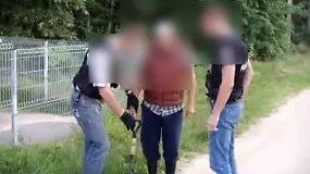 Sulaikytas  narkotikus platinęs romų tautybės vyras