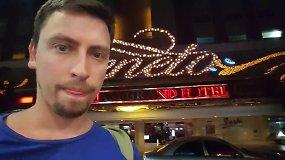 Slapta filmuoti kadrai: kaip atrodo Panamos kazino dirbančios palydovės?