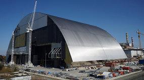 Černobylio atominės elektrinės 4-ąjį reaktorių uždengs naujasis sarkofagas