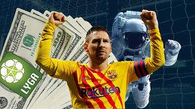 """""""Vieni vartai"""": parduotas Lietuvos futbolas, karalius Messi ir kosmonautas rinkimuose"""