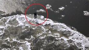 Gelbėjimo operacija Chabarovsko krašte: du paaugliai užstrigo ant ledo lyties