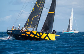 """""""Ambersail 2"""" Antigvos regatoje: antroji lenktynių diena"""