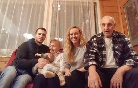Baibos Skurstenes-Serdiukės močiutė Velta Skurstene