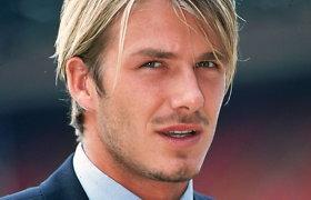 Davidas Beckhamas blondinas