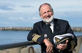 """Visą pasaulį aplankęs tolimojo plaukimo kapitonas V.Vaišutis: """"Tekdavo ir savaitę nevalgyti, nemiegoti"""""""