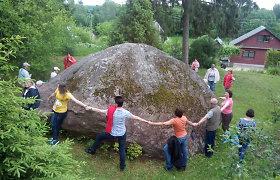 Geologai pasvėrė didžiausius Lietuvos akmenis