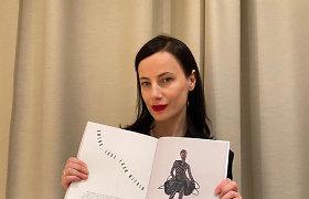 """Agnės Kuzmickaitės kurtas kombinezonas, kurį vilki """"Vogue Portugal"""" pozuojantis modelis"""