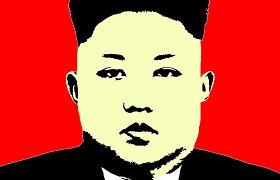 """Vado kultas Šiaurės Korėjoje: kai žmogus tampa """"dangiškuoju vadu"""""""