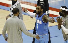 """Pagaliau pergalė: """"Rockets"""" nutraukė 20-ties pralaimėjimų seriją"""