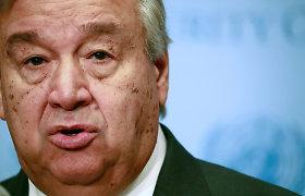 JT Saugumo Taryba suteikė Antonio Gutteresui antrą kadenciją